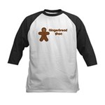 Gingerbread Man Kids Baseball Jersey