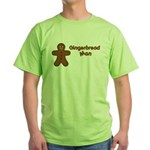 Gingerbread Man Green T-Shirt