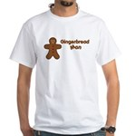 Gingerbread Man White T-Shirt