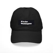 W is for Washington Baseball Hat