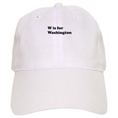 W is for Washington Cap