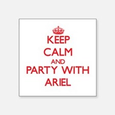 Keep Calm and Party with Ariel Sticker
