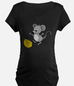 Mouse Jumping for Joy with  T-Shirt