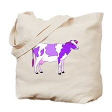Did You Ever See a Pastel Purple Cow? Tote Bag