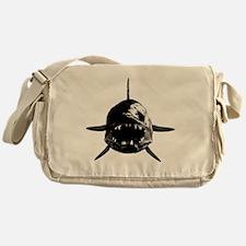 Walleye fangs Messenger Bag