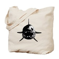 Walleye fangs Tote Bag