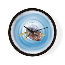Walleye water Wall Clock