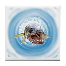 Walleye water Tile Coaster