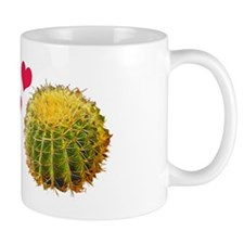 Porcupine Finds True Love with Cactus Mug