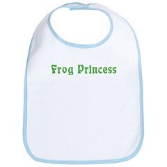 Frog Princess Bib