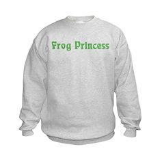 Frog Princess Sweatshirt
