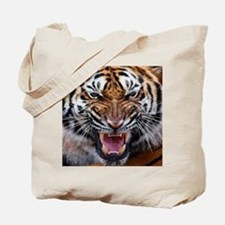 Big Cat Tiger Roar Tote Bag