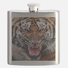 Big Cat Tiger Roar Flask