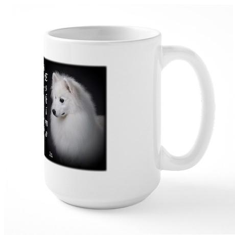 American Eskimo Dog Large Mug