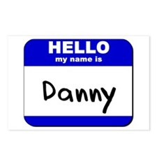 hello my name is danny  Postcards (Package of 8)
