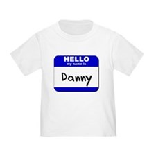 hello my name is danny T