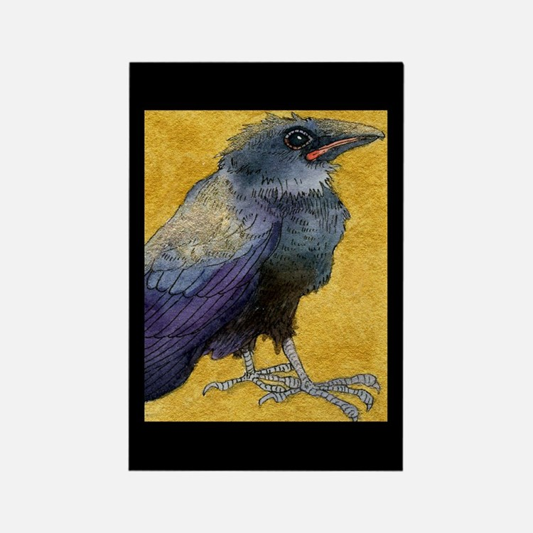 Cute Crows Rectangle Magnet (10 pack)