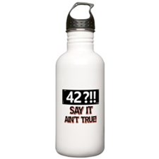 42 years already Water Bottle
