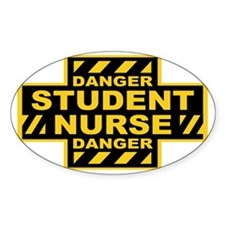danger-nurse-CAP Decal