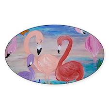Flamingo Garden Decal