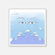 """Spiritual Sky Square Sticker 3"""" x 3"""""""