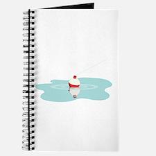Fishing Line Bobber Journal