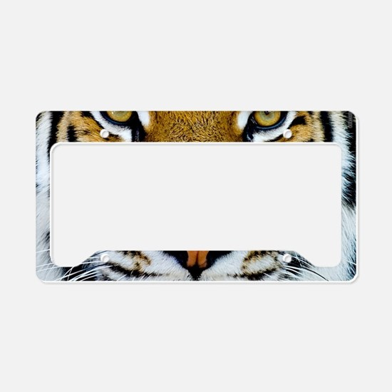 Big Cat Tiger Roar License Plate Holder