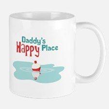 Daddys Happy Place Mugs