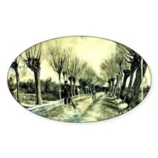 Van Gogh - Road with Pollarded Will Decal