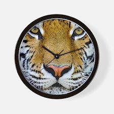Big Cat Tiger Roar Wall Clock