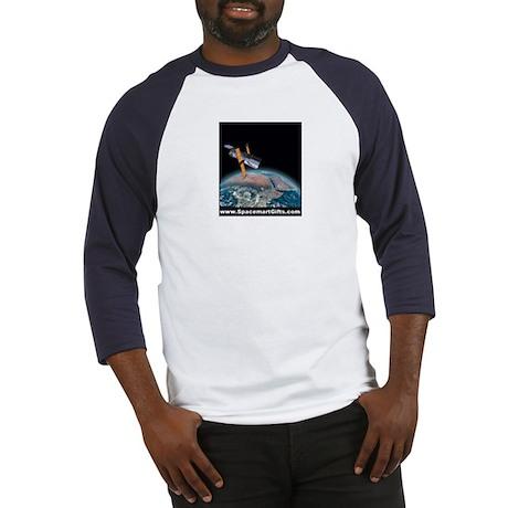 Apollo 11 Earthrise on the Moon Baseball Jersey