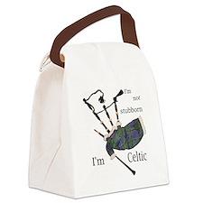 Stubborn Celt Canvas Lunch Bag