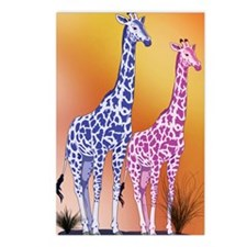 S4 Giraffe Postcards (Package of 8)
