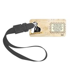 Richard Wagner Historical Luggage Tag