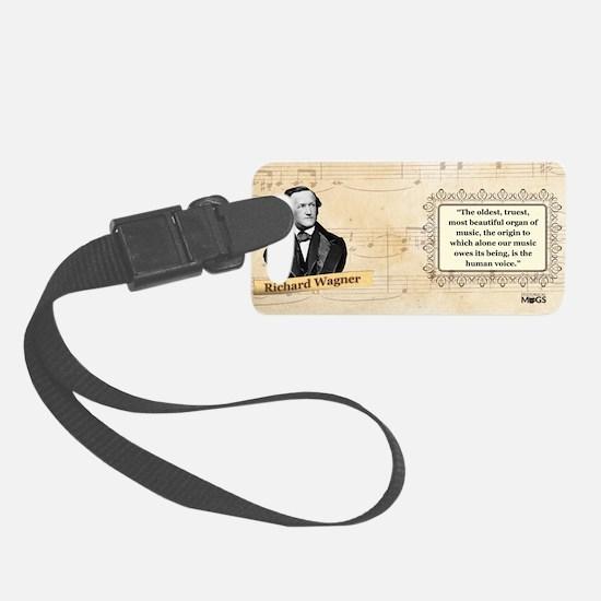 Richard Wagner Historical Luggage Tag
