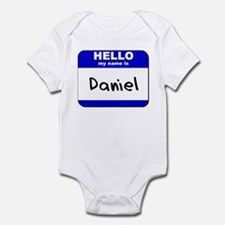 hello my name is daniel  Infant Bodysuit