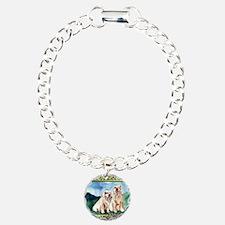 Clumber Spaniel Dog Chri Bracelet