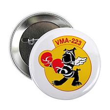 """USMC - Marine Attacks Squadron 223 2.25"""" Button"""