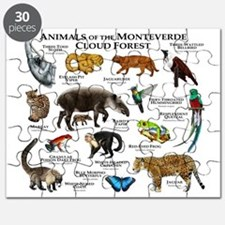 Animals of the Monteverde Cloud Forest Puzzle