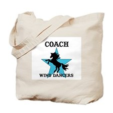 Cute Equestrian drill team Tote Bag