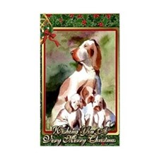 Bracco Italiano Dog Christmas Decal