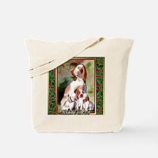 Bracco Italiano Dog Christmas Tote Bag
