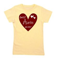 Red Heart Best Auntie Ever Girl's Tee