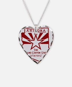 Arizona The Grand Canyon Stat Necklace