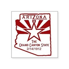 "Arizona The Grand Canyon St Square Sticker 3"" x 3"""