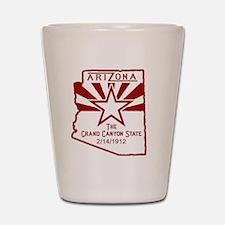 Arizona The Grand Canyon State Shot Glass