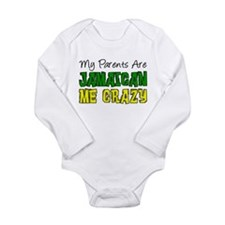 Parents Jamaican Me Crazy Body Suit