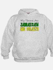 Parents Jamaican Me Crazy Hoodie