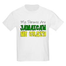 Parents Jamaican Me Crazy T-Shirt