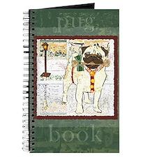 Holiday Pug Journal